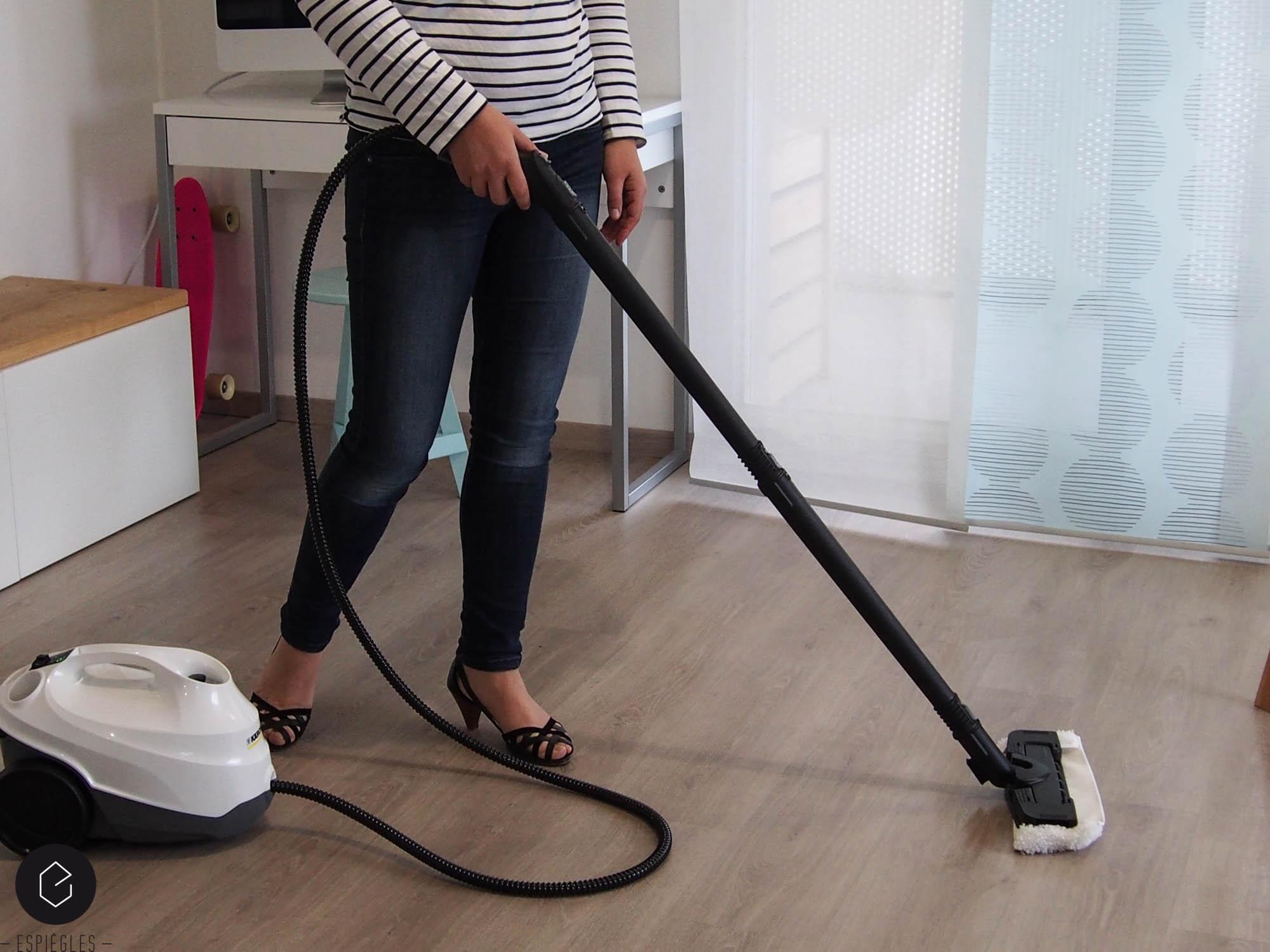 Nettoyer à la vapeur